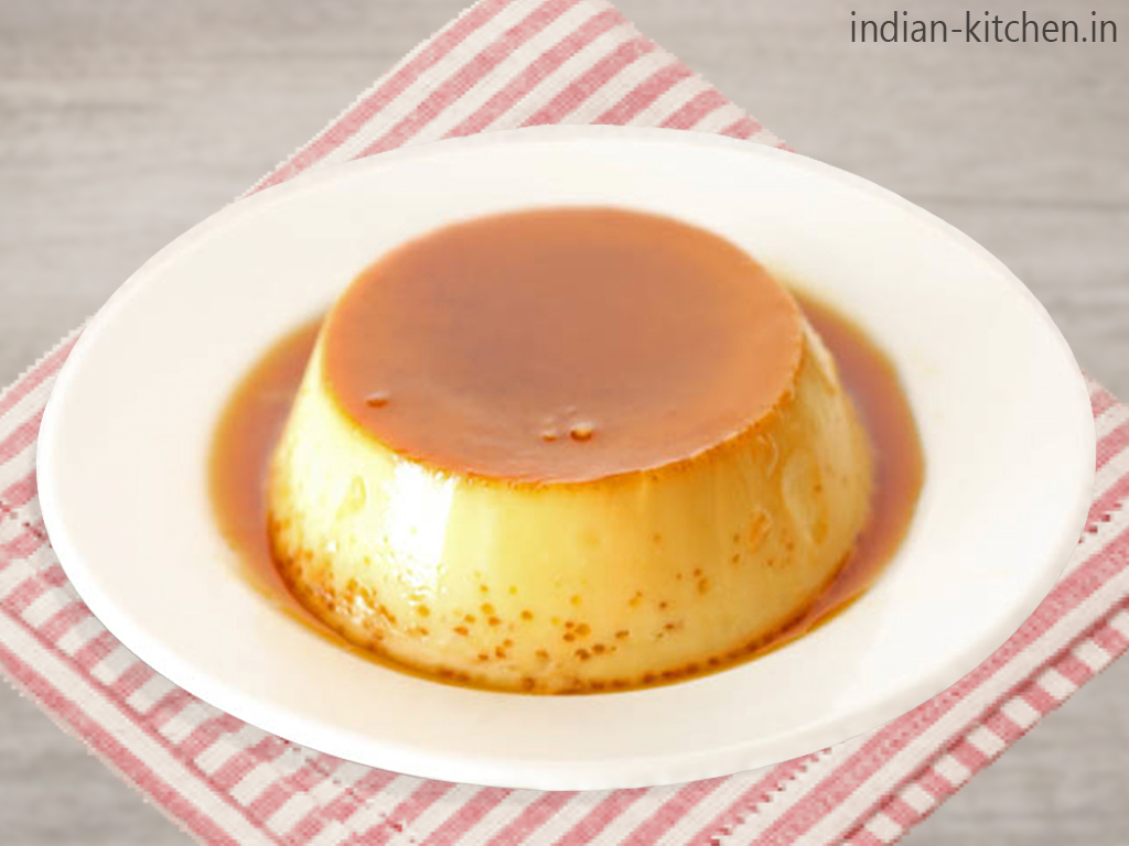 Creamy Caramel Custard Pudding